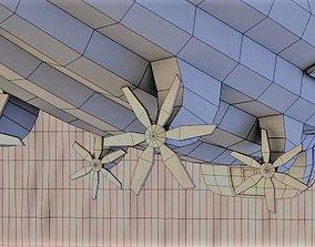 light 3D model Airship