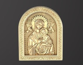3D printable model godmother Russian icon
