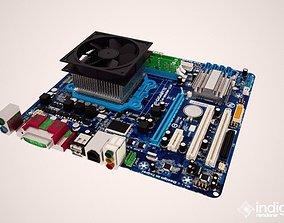 gigabyte motherboard whit ram 3D