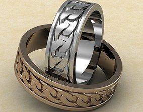 wedding rings stl print