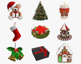 3D model Christmas Collection 01