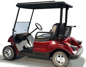 3D model sportbike Golf Cart