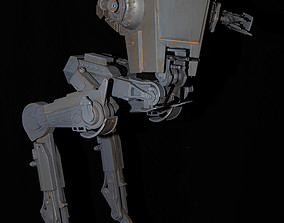 Starwars AT-ST sci-fi 3D printable model