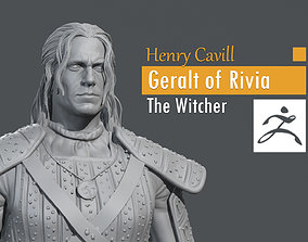 3D printable model Henry Cavill - Geralt of Rivia - The