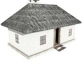 3D Ukrainian house