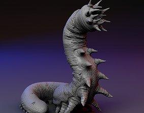 3D print model worm Carrion Eater - Carrion Crawler