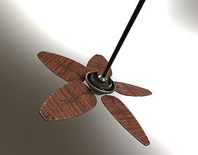 Palm Ceiling Fan 3D model