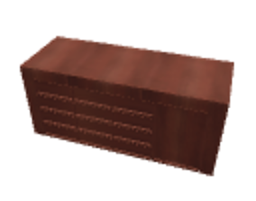 Dresser cherry 3D model