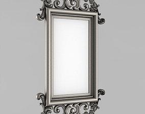 Frame for the mirror frame baked-good 3D print model