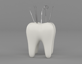 3D model Dental Instruments
