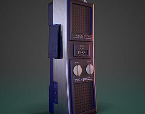Realistic Citizens Band Transceiver TRC-180 3D model