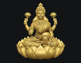 3D print model Goddess Laxmi Bas relief