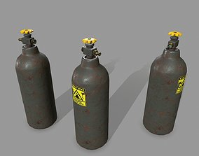 propane 3D model realtime Propane Tank