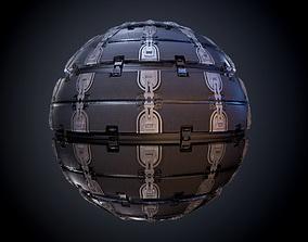 Sci-Fi Military Seamless PBR Texture 01 3D model