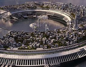 3D model Future City 2020