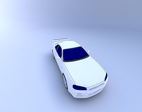1999 Nissan Skyline 3D model