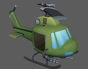 3D model Low Poly Chopper