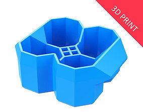 dining Crate Unity 04 for 4 Cans 350ml 3D print model