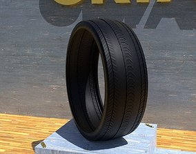 ORTAS TIRE NO 17 GAME READY AND 3D PRINTABLE
