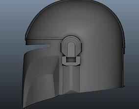 Mandalorian Helmet 3D printable model hobby-diy