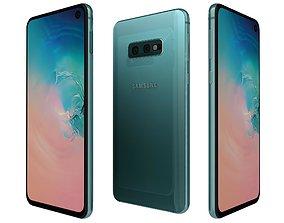3D model Samsung Galaxy S10e Prism Green