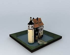 3D Tower House