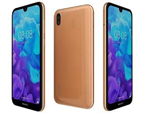 Huawei Y5 2019 Amber Brown 3D