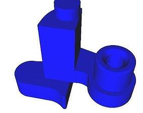3D printable model Trigger part Kg9 gbb