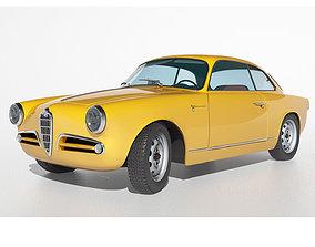3D 1958 Alfa Romeo Giulietta Sprint Veloce
