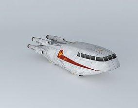 3D model Colonial Shuttle