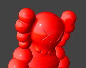 KAWS WHAT PARTY CHUM Figures 3D printable model scans