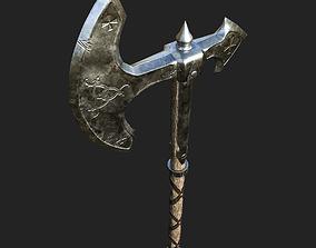 Celtic War Axe 3D model