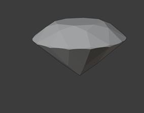 3D brilliant diamond