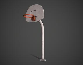 Basketball Hoop 3D asset