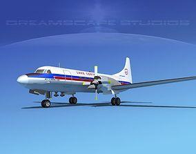 Convair CV-580 Lake Central 3D