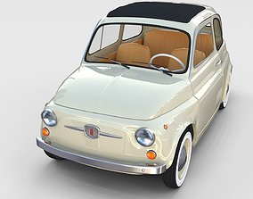Fiat 500D Nuova 1960 rev 3D model