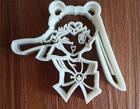 3D printable model Sailormoon cookie cutter