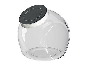 Jar Glass Container 3D model