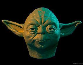 Yoda head georgelucas 3D print model