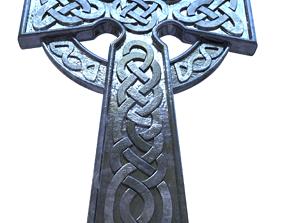 Celtic Cross 3D print model