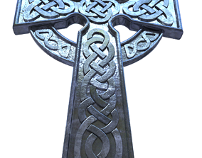 Celtic Cross 3D print model