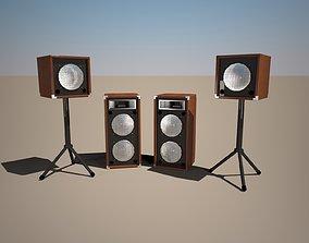 3D model audio Speaker
