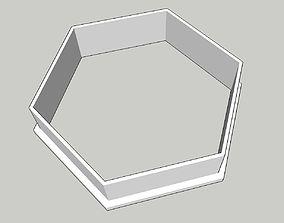 Hexagon 2 inches 3D print model