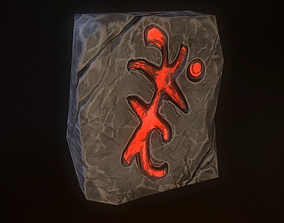 3D asset Magic Stone