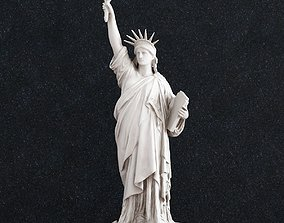 3D printable model Statue of Liberty 360
