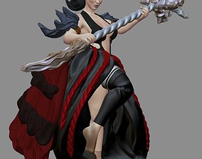 Faun girl 3D printable model
