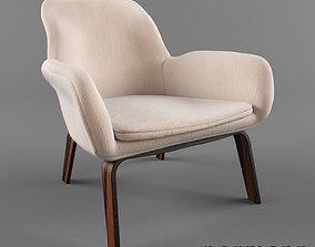 Normann Copenhagen lounge chair 3D model