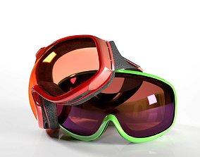 Hawkeye Snow Goggles 3D model