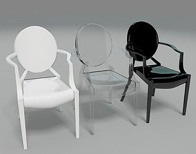 3D model Ghost Chair 2