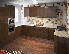 3D Kitchen Furniture XI